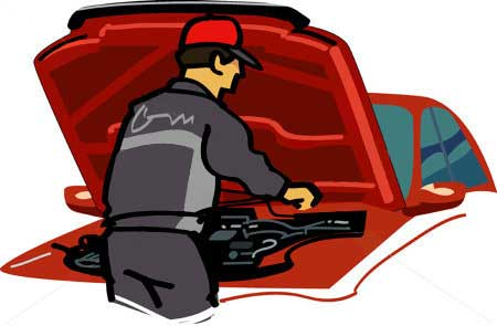 Mechanic-Inspecting-Vehicle